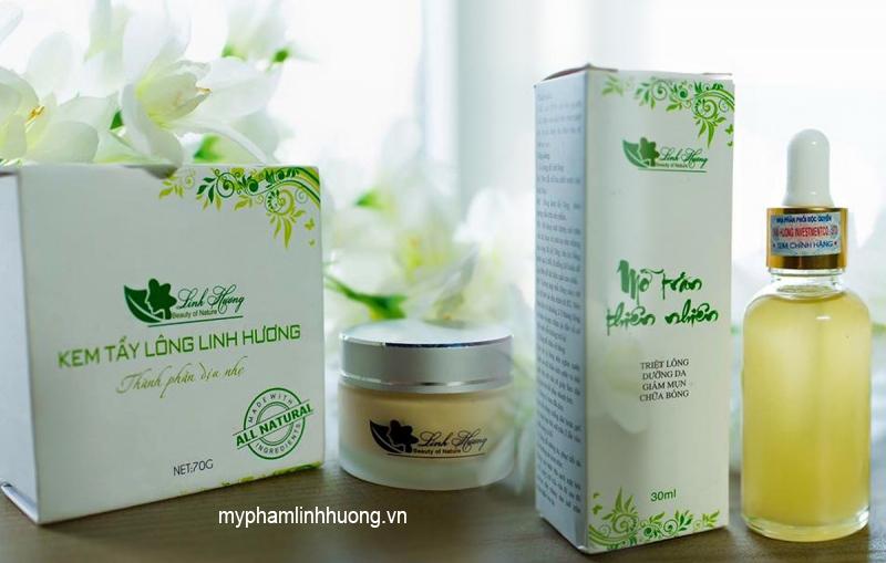 Những lưu ý khi sử dụng Kem tẩy Lông Linh Hương