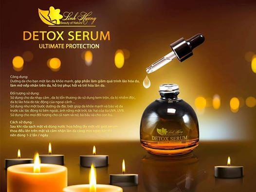 Detox Serum - Serum thải độc Linh Hương