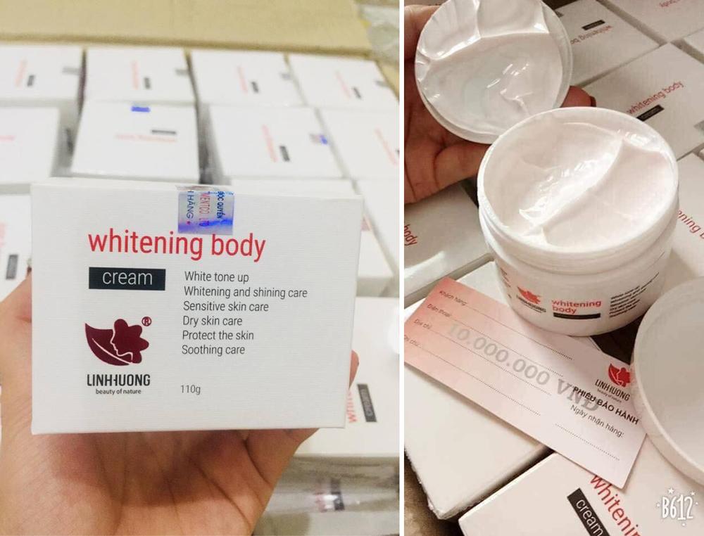 Whitening Body Cream Linh Hương 110G